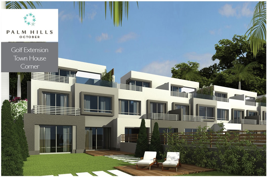 Town Corner at palm hills 6 October Golf extension zone