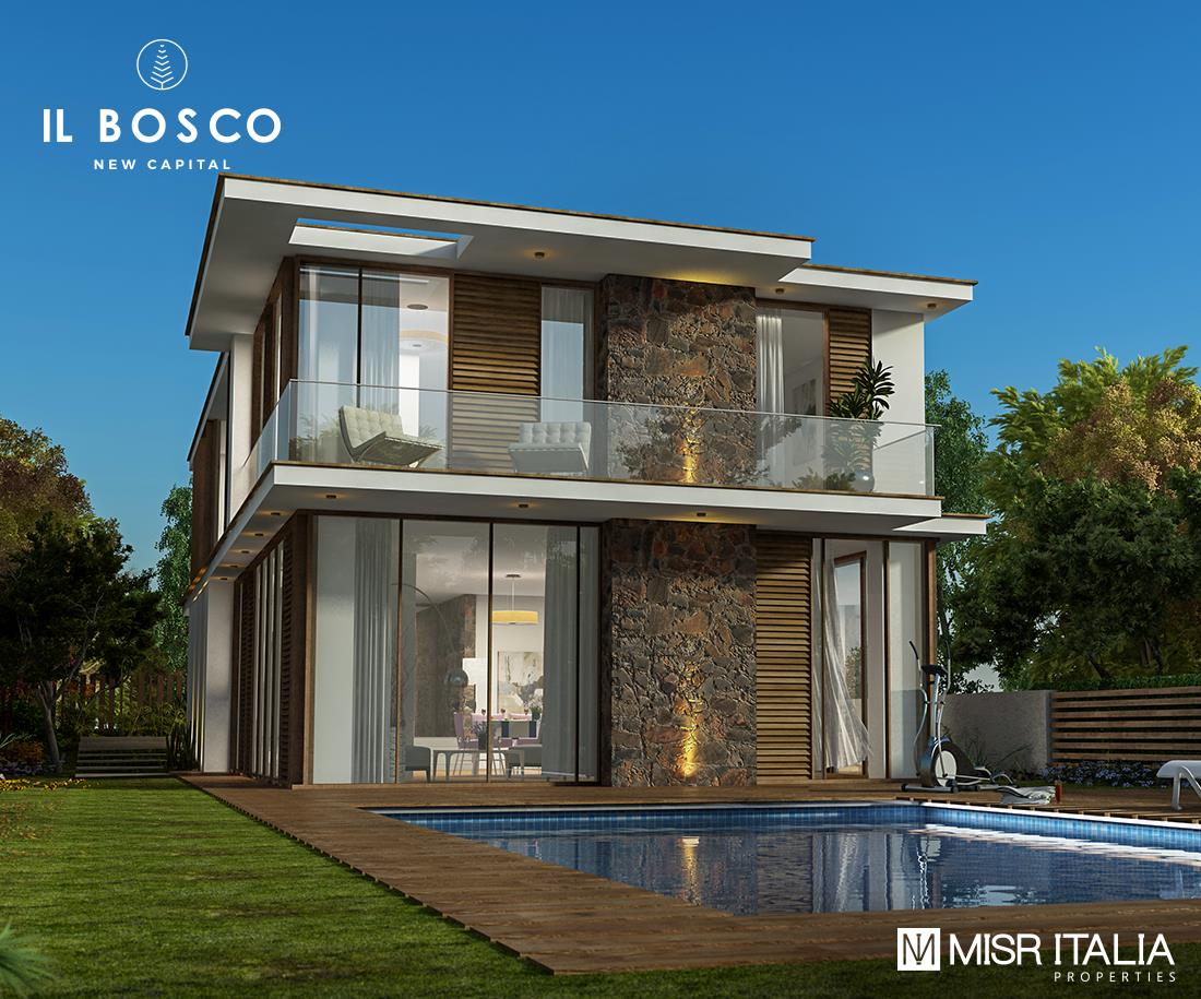Il Bosco Compound Misr Italia كمبوند-مصر-ايطاليا-العاصمة-الادارية-الجديدة-البوكيو
