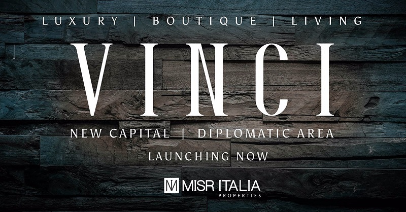 Misr Italia Luxury Boutique Living VINCI New Capital Diplomatic Area